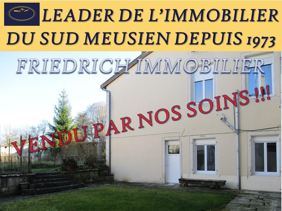 APPARTEMENT REZ-DE-CHAUSSEE PROCHE CENTRE VILLE - COMMERCY