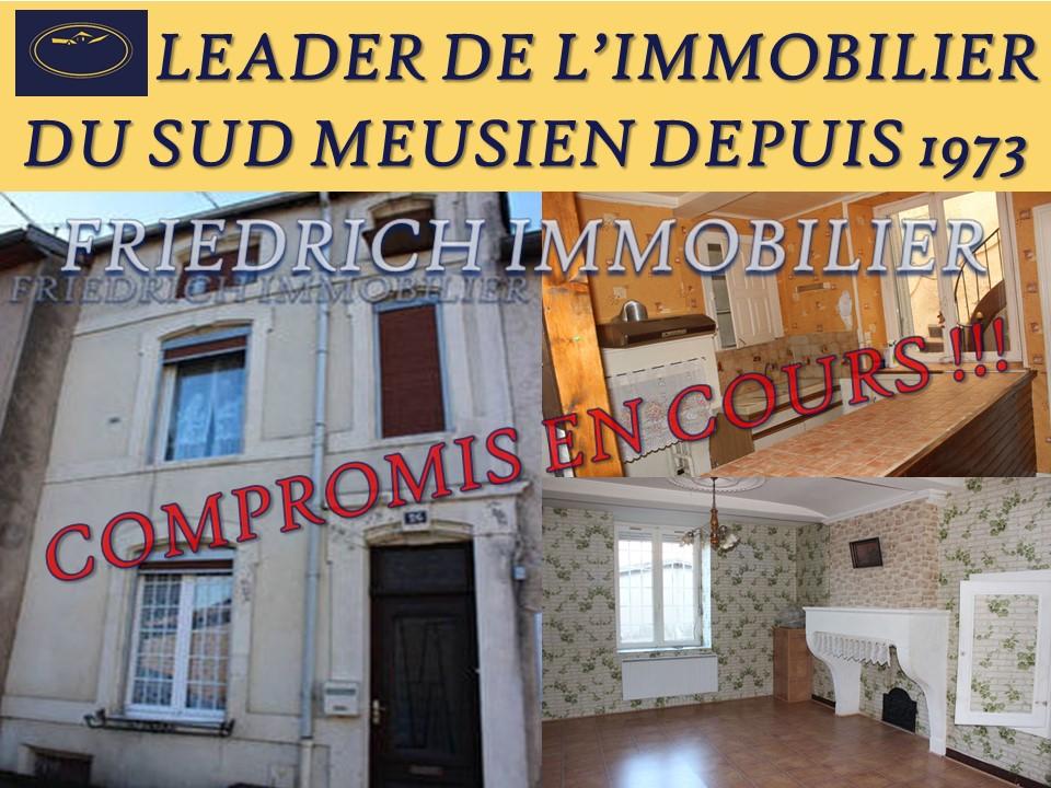 A vendre Maison COMMERCY 120m² 55.000