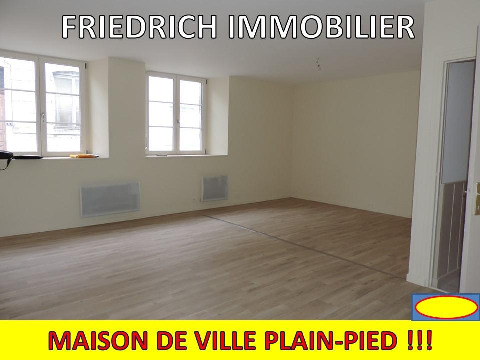 A vendre Maison SAINT MIHIEL 74m² 3 piéces