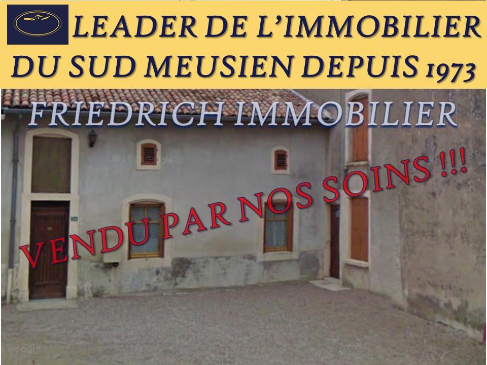 A vendre Maison VIEVILLE SOUS LES COTES 134m² 39.500 5 piéces