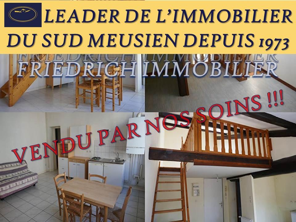 Immeuble de rapport - RAPPORT REVENU LOCATIF ANNUEL (potentiel) 33.210€ - BAR LE DUC