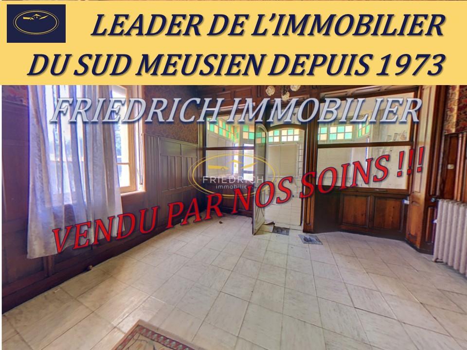 A vendre Maison SAINT-MIHIEL 179m² 80.000 8 piéces