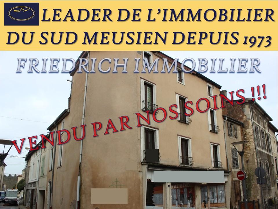 IMMEUBLE DE RAPPORT à rénover CENTRE VILLE - SAINT MIHIEL