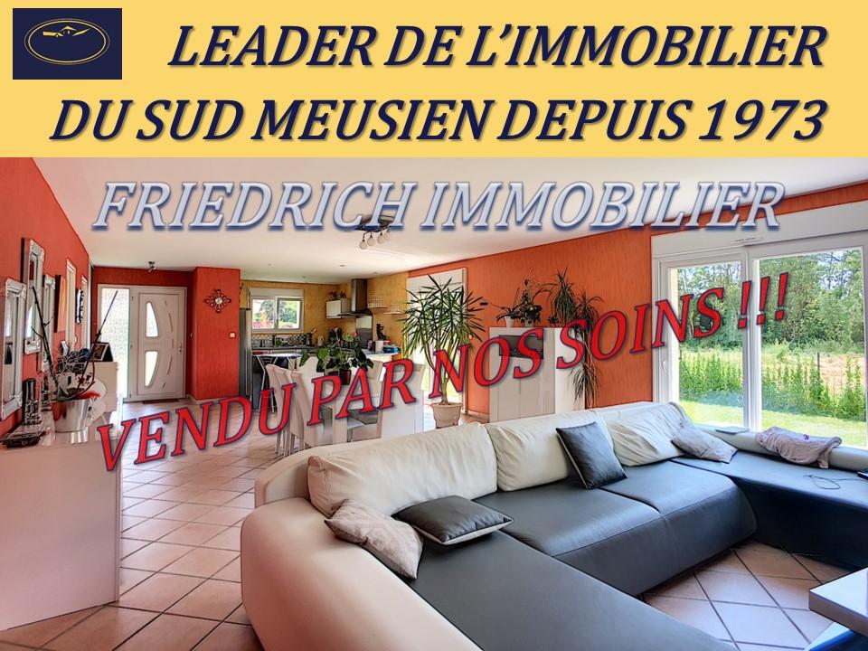A vendre Maison COMMERCY 138m² 200.000 5 piéces