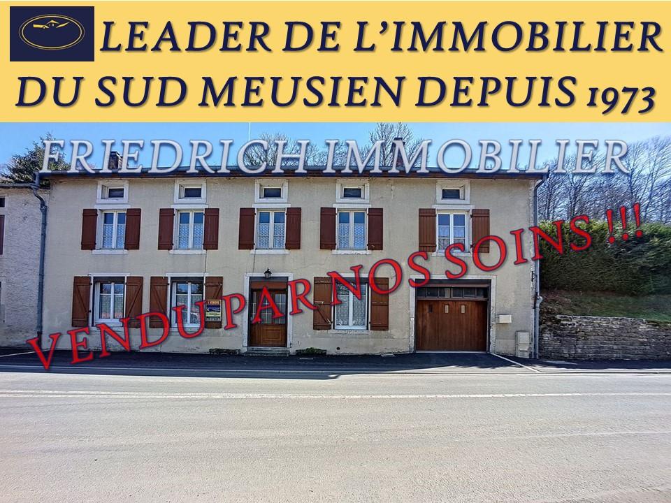 A vendre Maison MONTIERS SUR SAULX 177.35m² 55.000 9 piéces