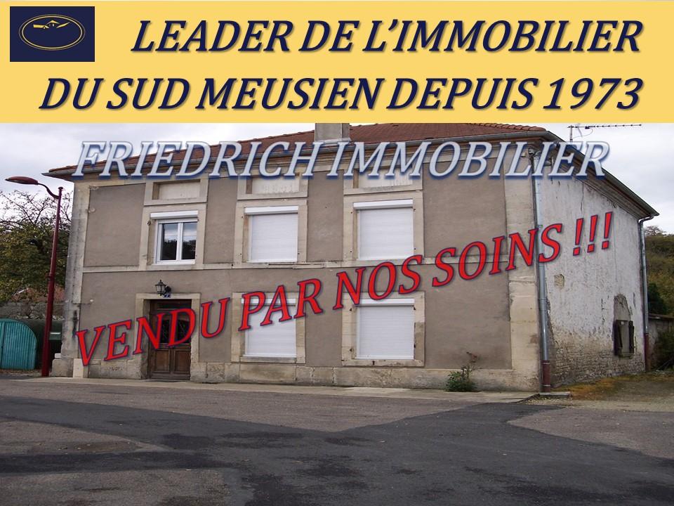 A vendre Maison MONTIERS SUR SAULX 135m² 66.000 7 piéces