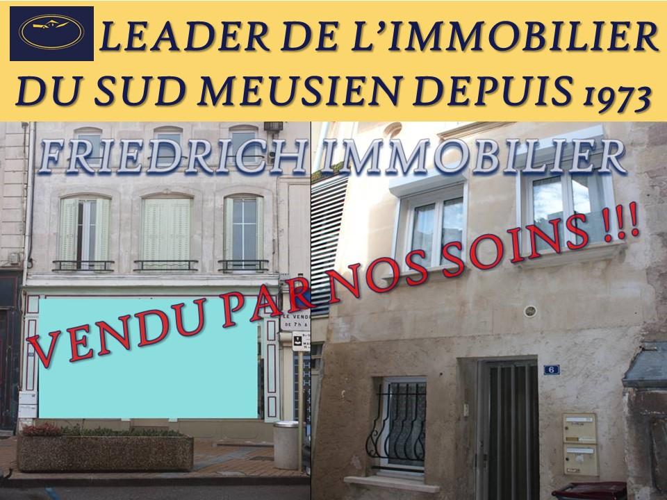 A vendre Immeuble LIGNY EN BARROIS 167m² 95.000 6 piéces