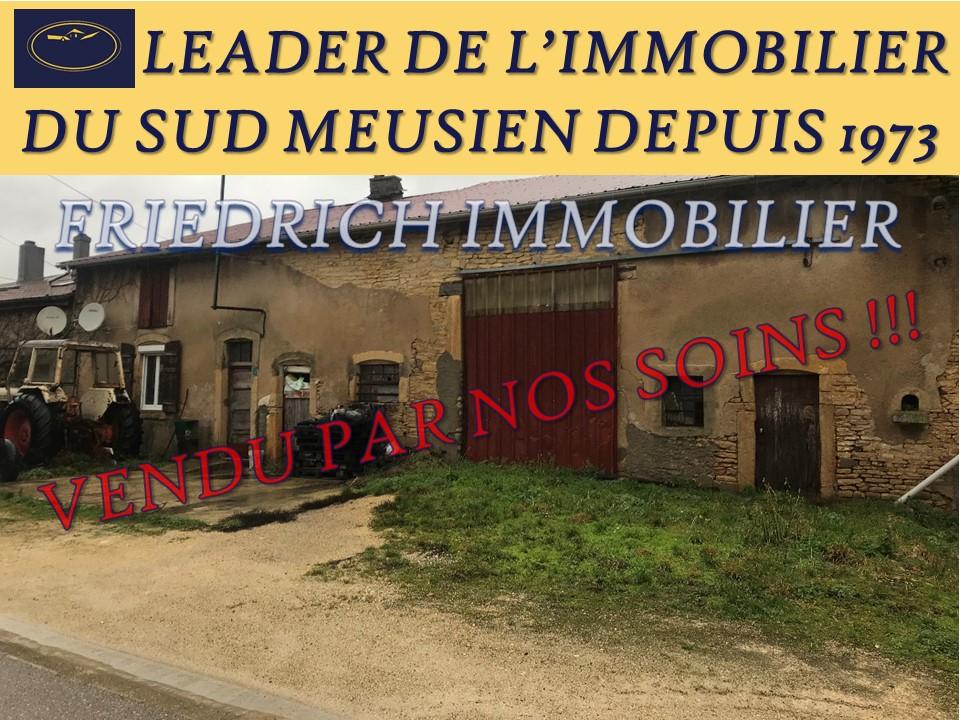 A vendre Maison ETAIN 13.000 2 piéces