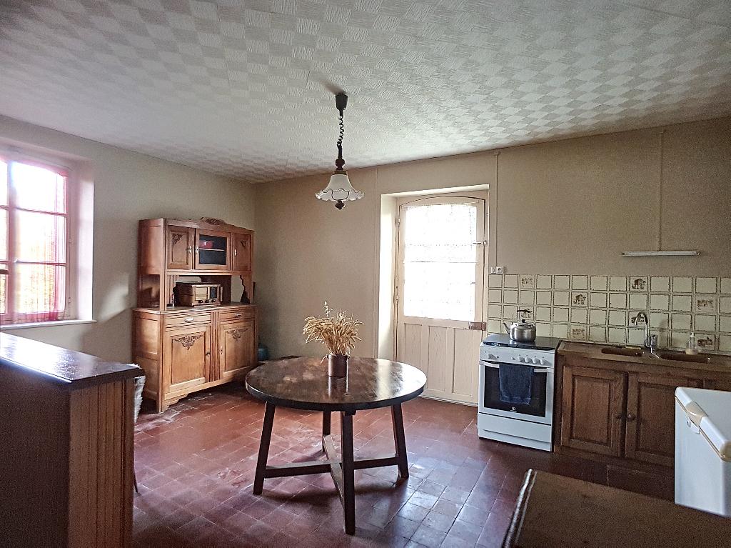 A vendre Maison TREVERAY 87.22m² 70.000 4 piéces
