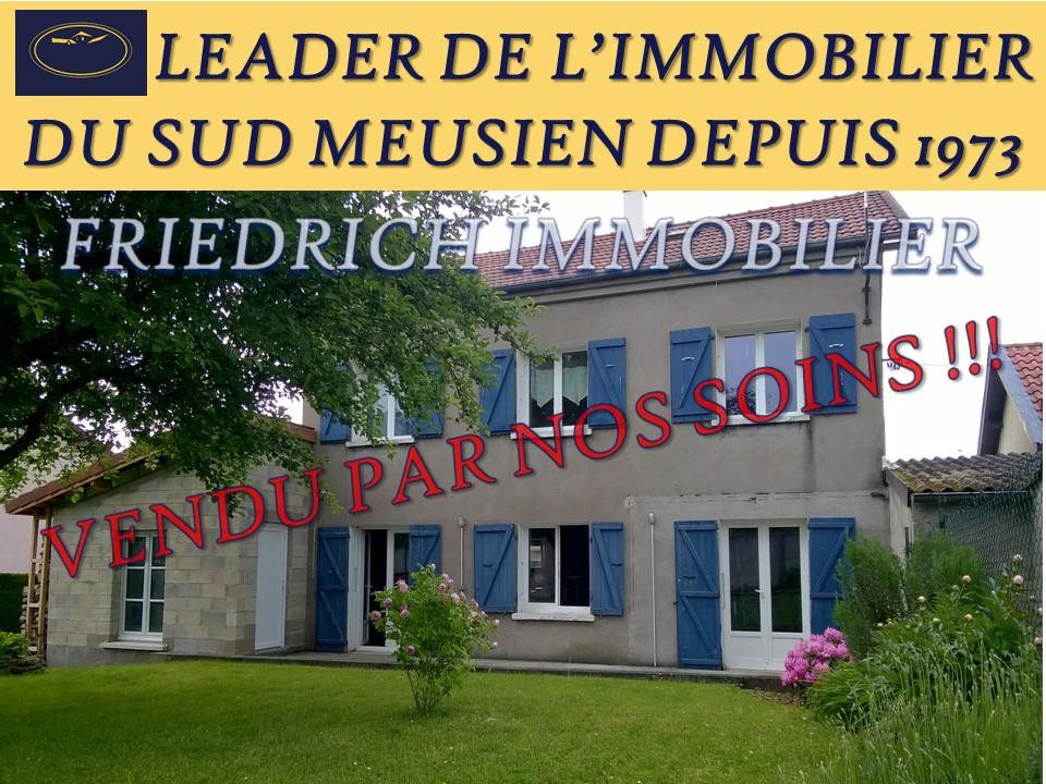 Maison indépendante rénovation récente - Proche SAINT-MIHIEL