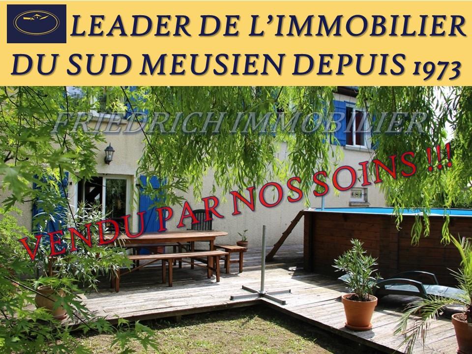A vendre Maison FRESNES AU MONT 157m² 4 piéces