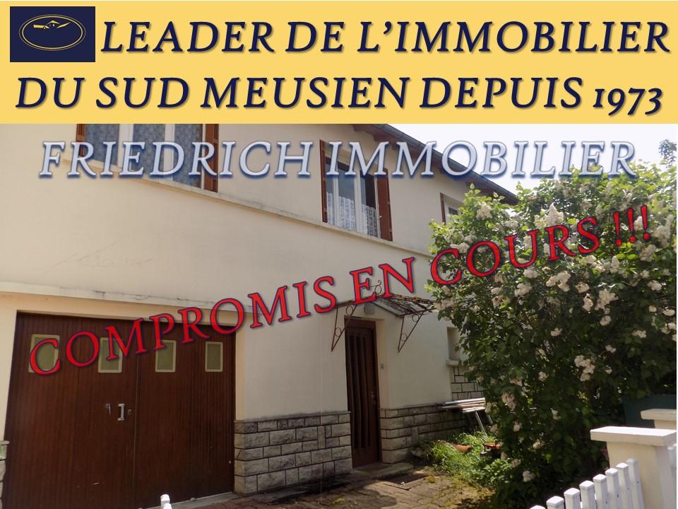 A vendre Maison LONGEVILLE EN BARROIS 85m² 5 piéces