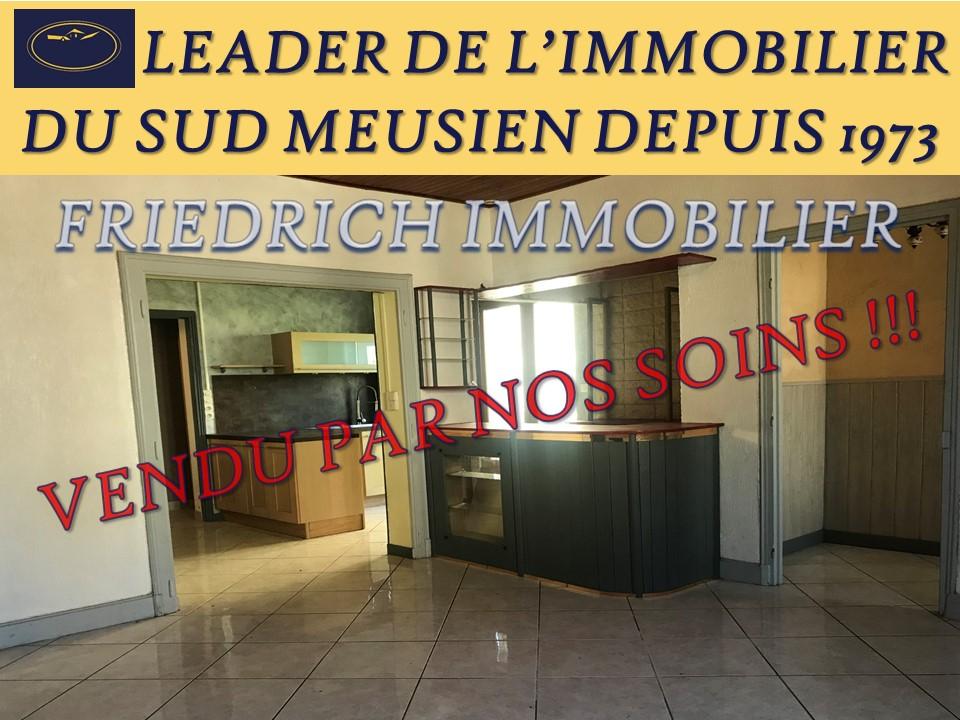 A vendre Maison FRESNES AU MONT 88.000 5 piéces