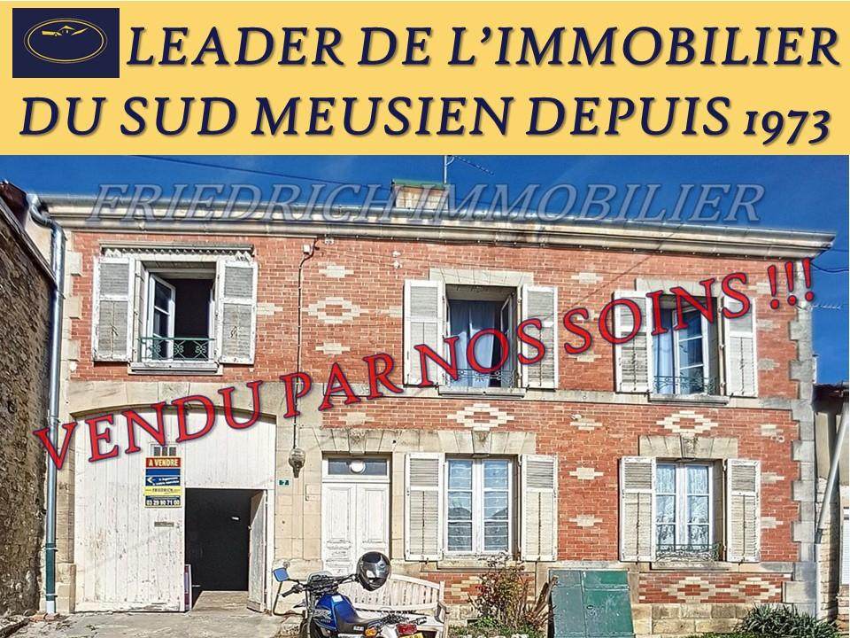 A vendre Maison JUVIGNY EN PERTHOIS 126.1m² 23.000 6 piéces
