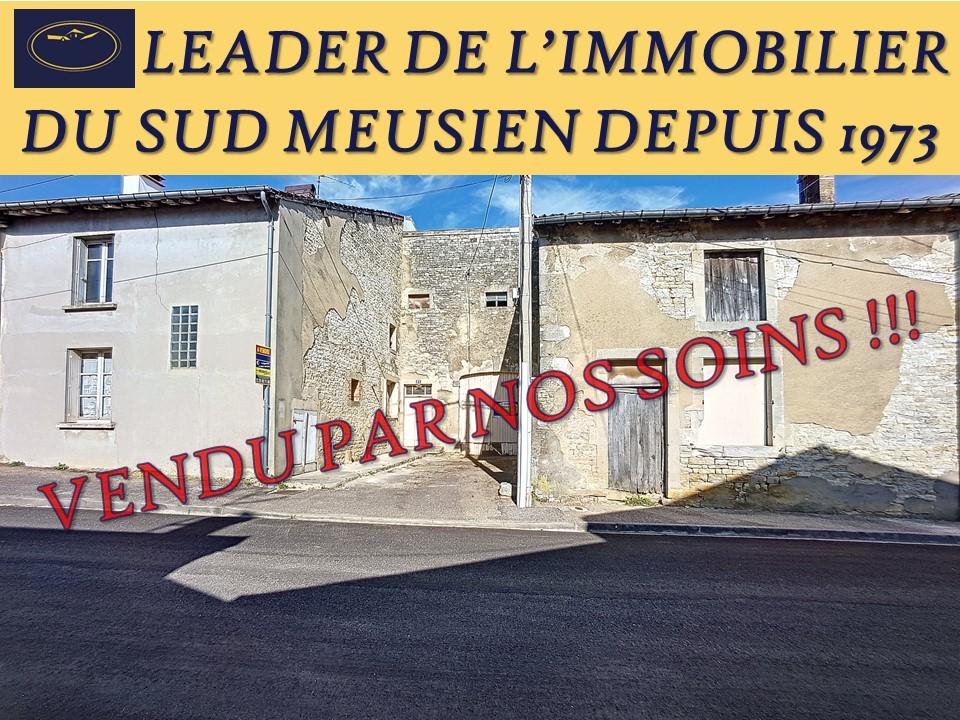 A vendre Maison DAMMARIE SUR SAULX 90m² 18.000 4 piéces