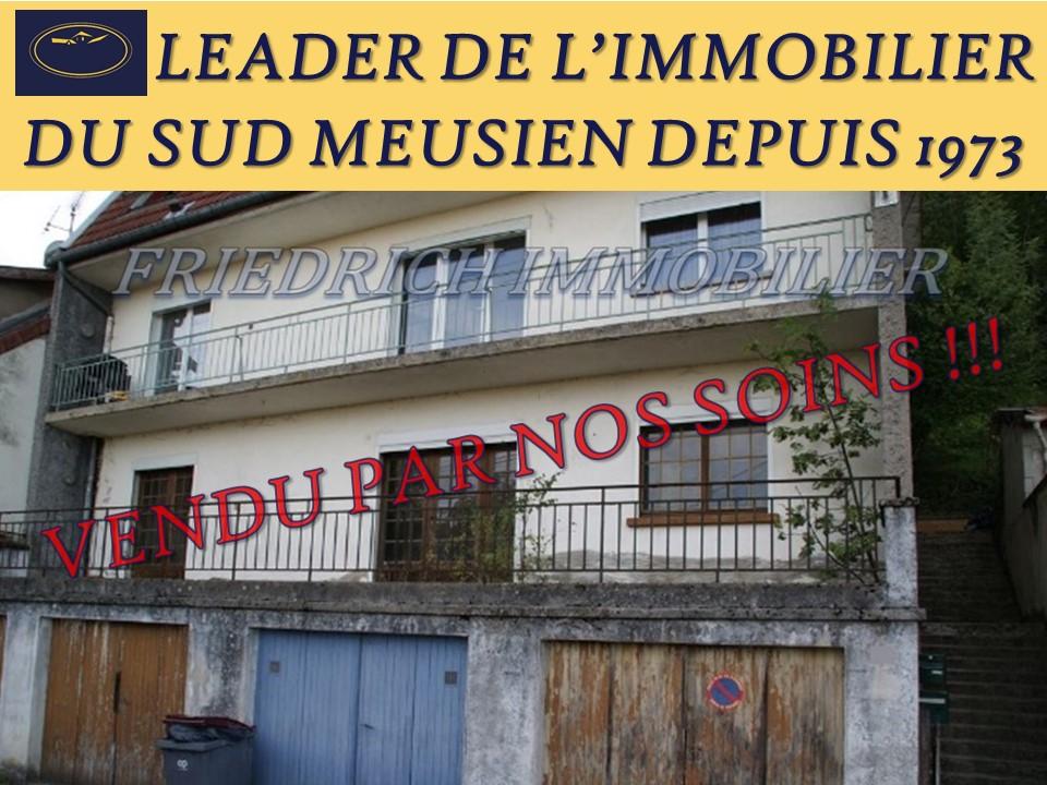 APPARTEMENT F3 A RÉNOVER - LIBRE A LA VENTE - Proche BAR LE DUC