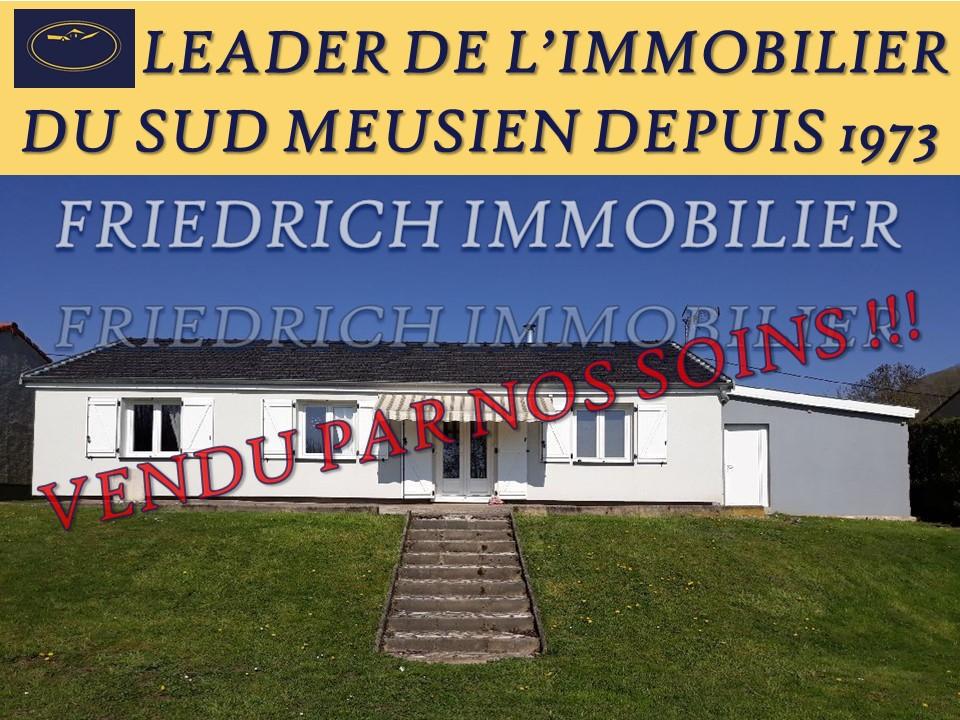 A vendre Maison APREMONT LA FORET 155.000 6 piéces