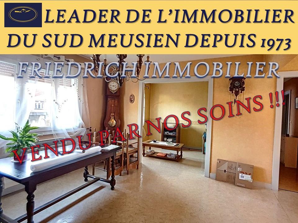 A vendre Appartement LIGNY EN BARROIS 74m² 4 piéces