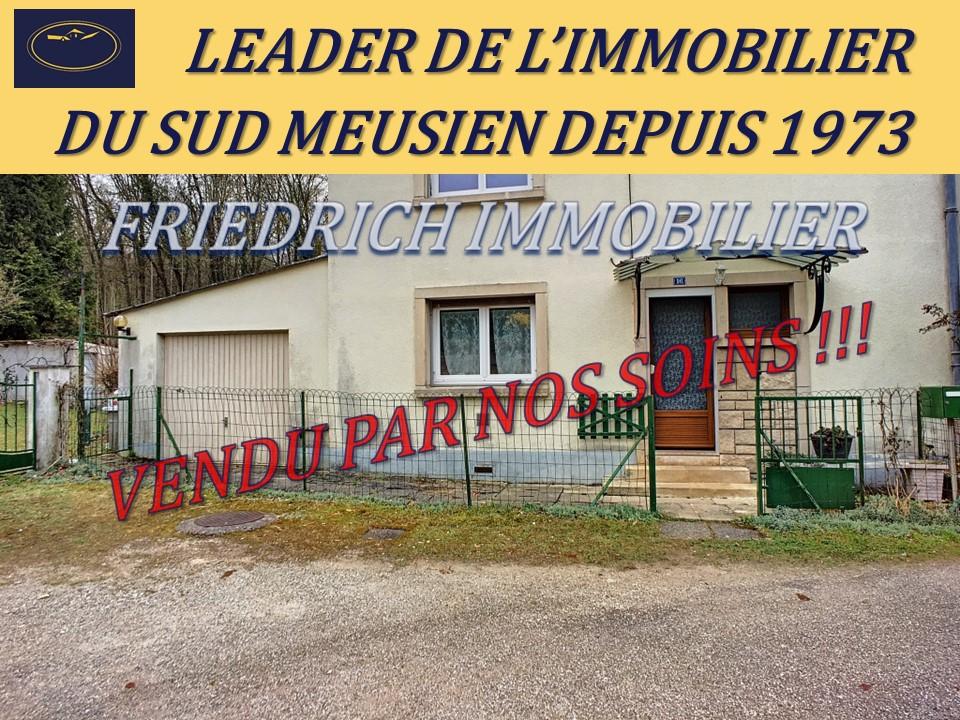 A vendre Maison EUVILLE 49.500 5 piéces