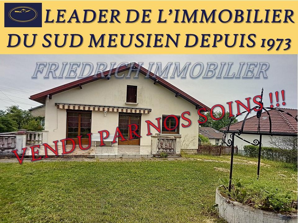A vendre Maison BAR LE DUC 85m² 5 piéces