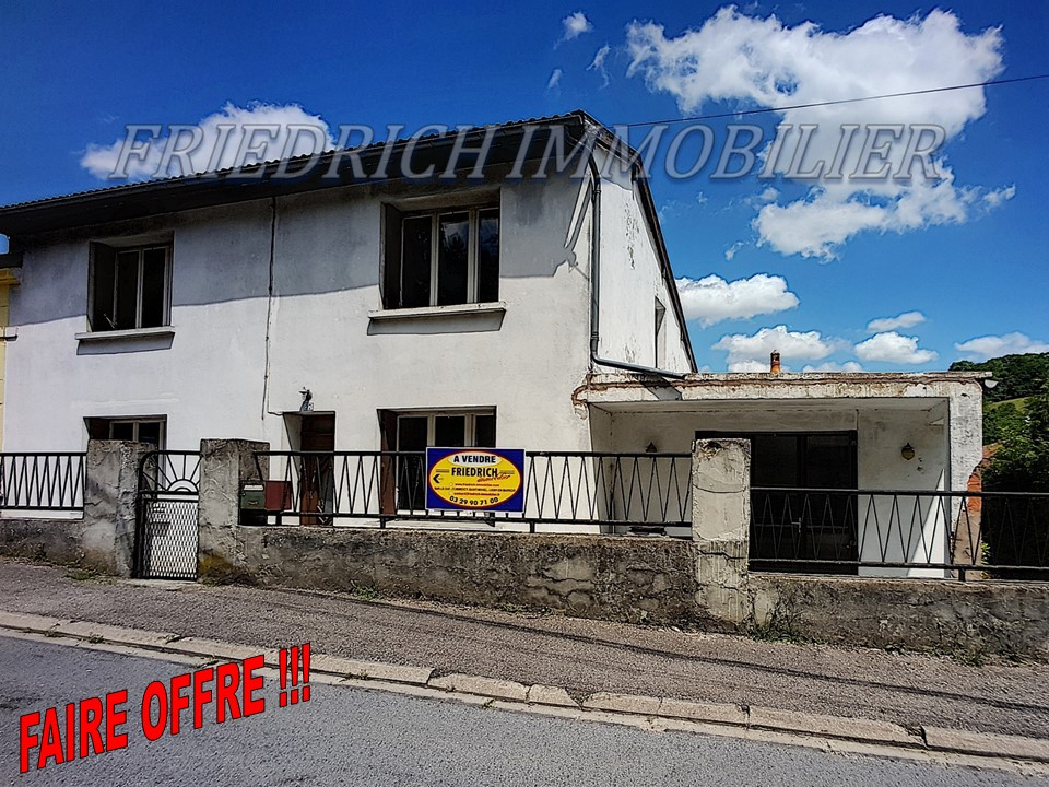 A vendre Maison NAIVES ROSIERES 88.000