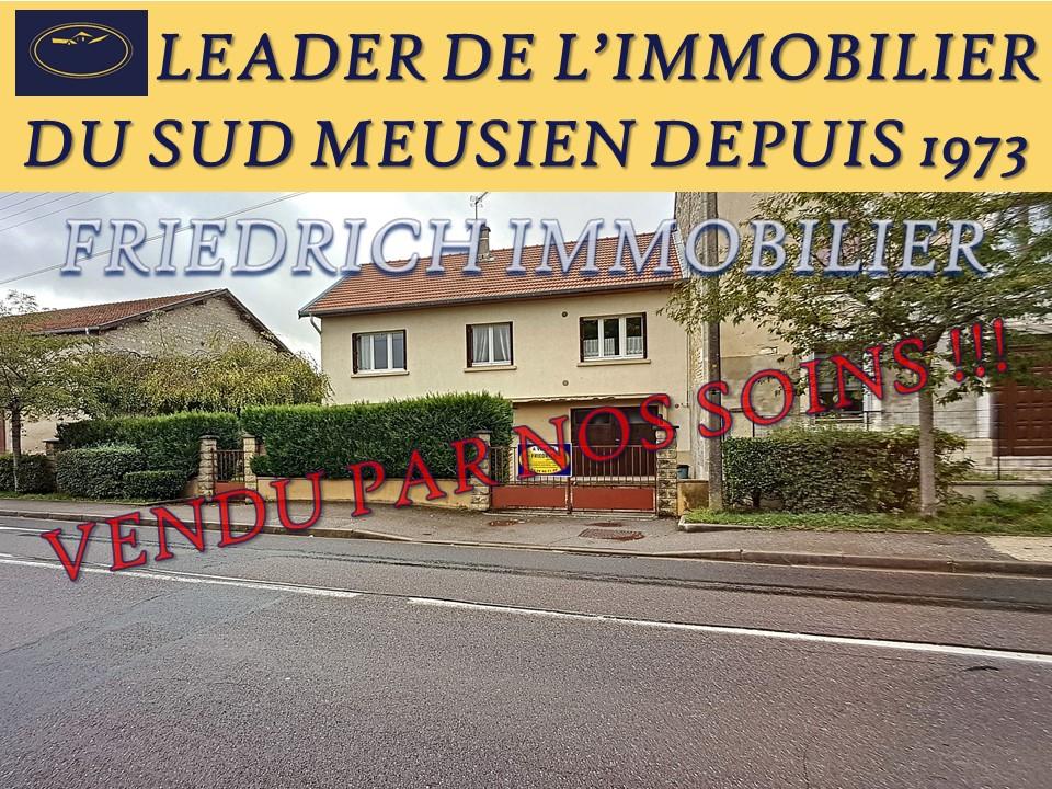 A vendre Maison SAMPIGNY 121.24m² 8 piéces
