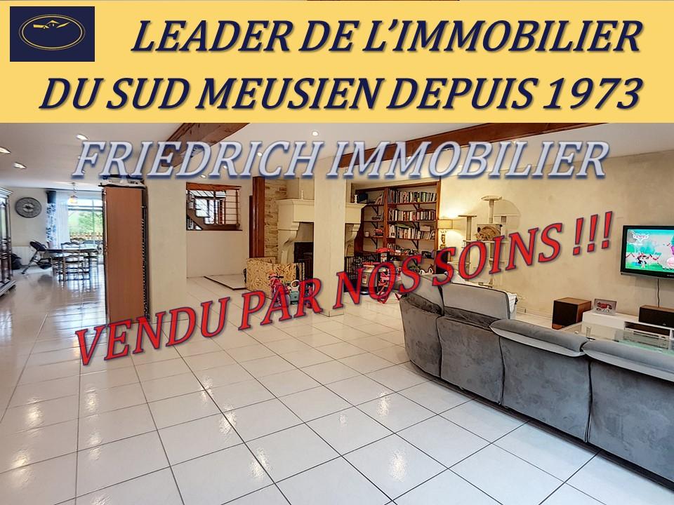 A vendre Maison BAR LE DUC 6 piéces
