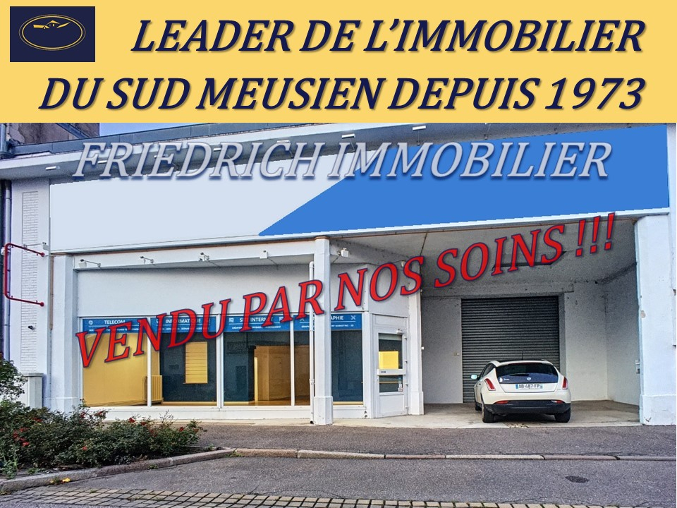 A vendre Local commercial COMMERCY