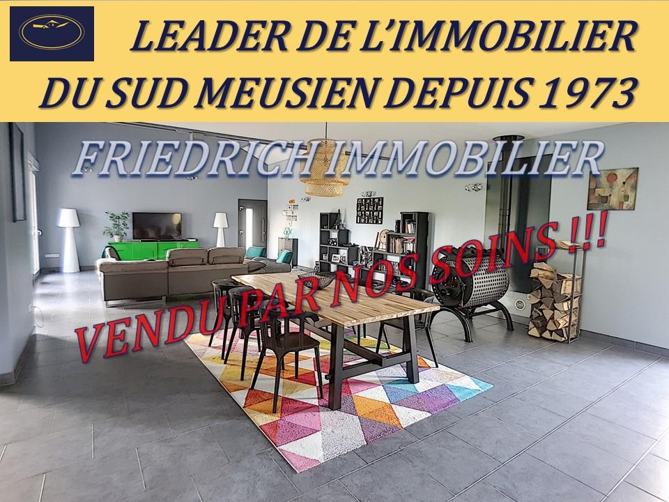A vendre Maison BAR LE DUC 240.000 5 piéces