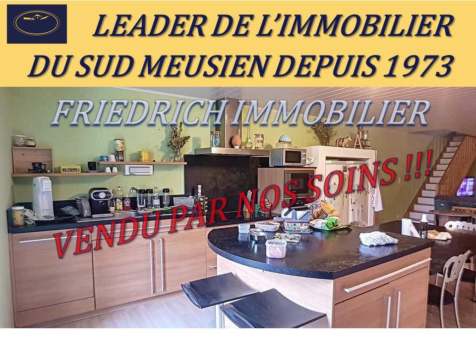 A vendre Maison LIGNY EN BARROIS 165m² 114.000 4 piéces