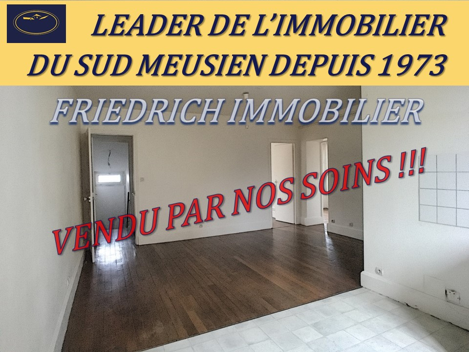 A vendre Appartement COMMERCY 56m² 40.000