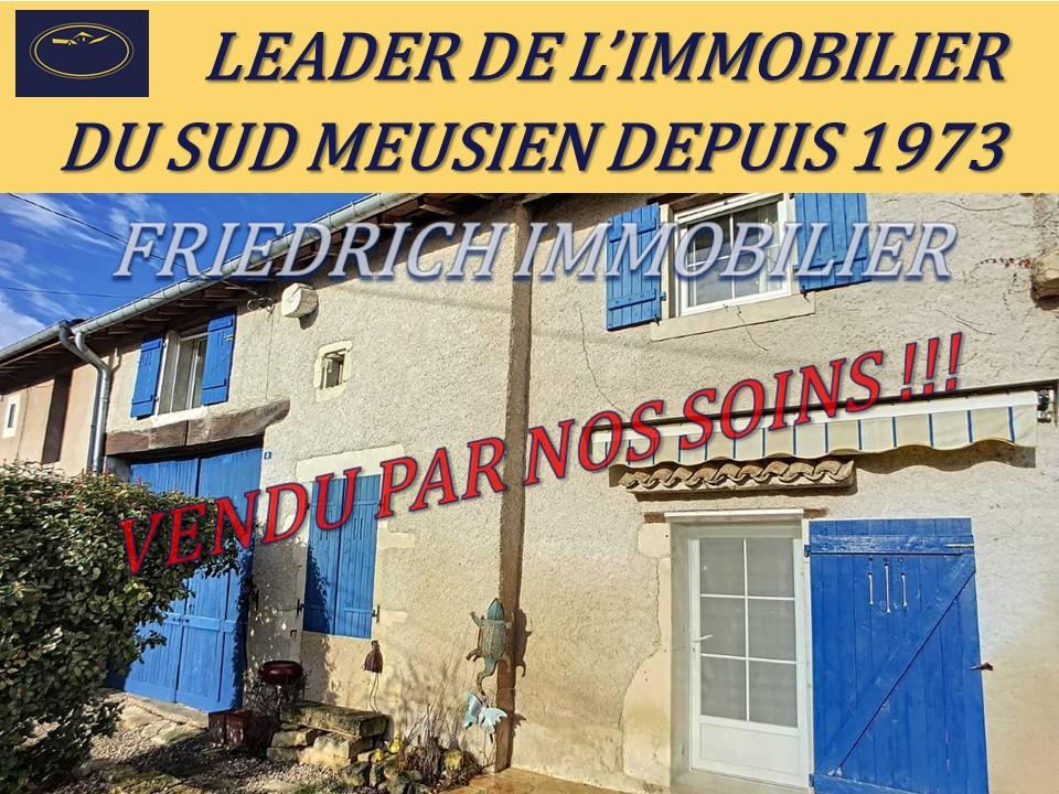 A vendre Maison BUXIERES SOUS LES COTES 139.000 5 piéces