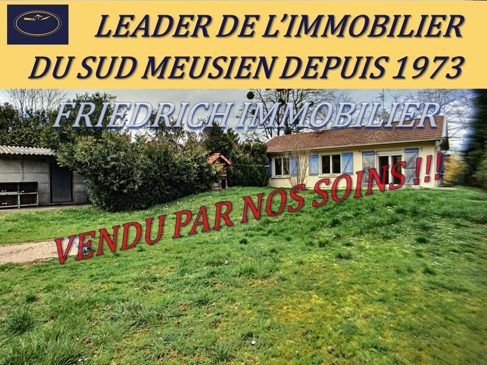 A vendre Maison COMMERCY 88m² 71.000 5 piéces