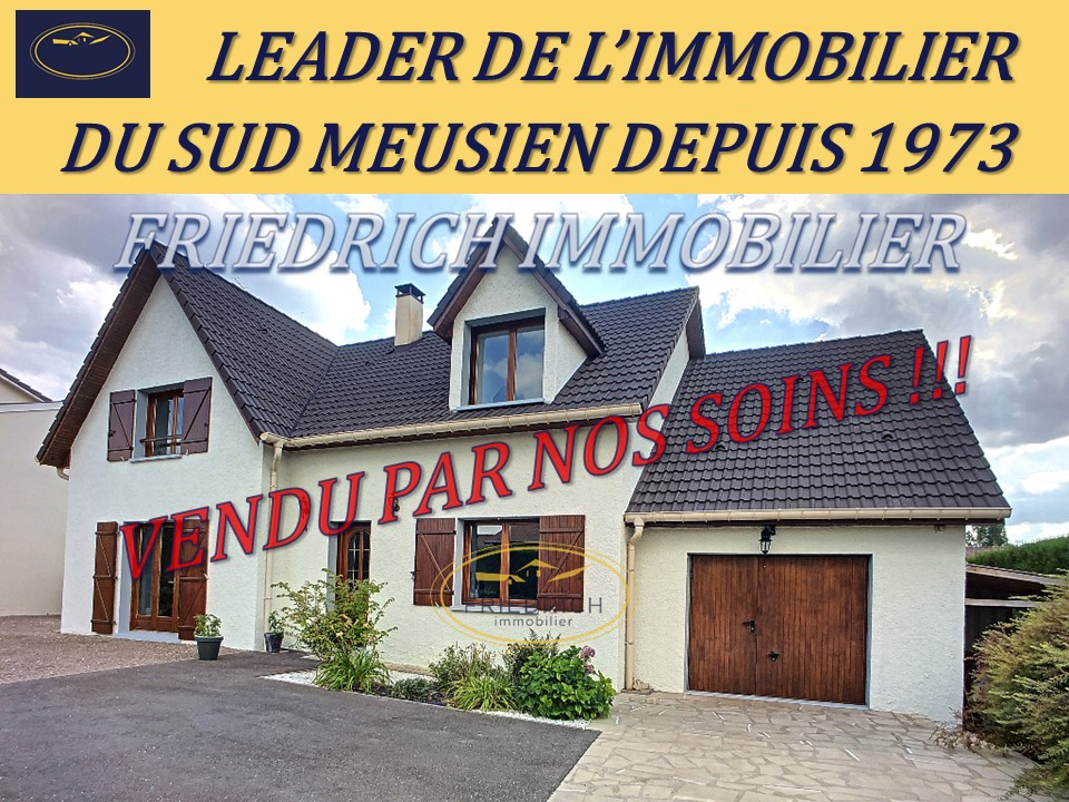 A vendre Maison COMMERCY 170m² 5 piéces