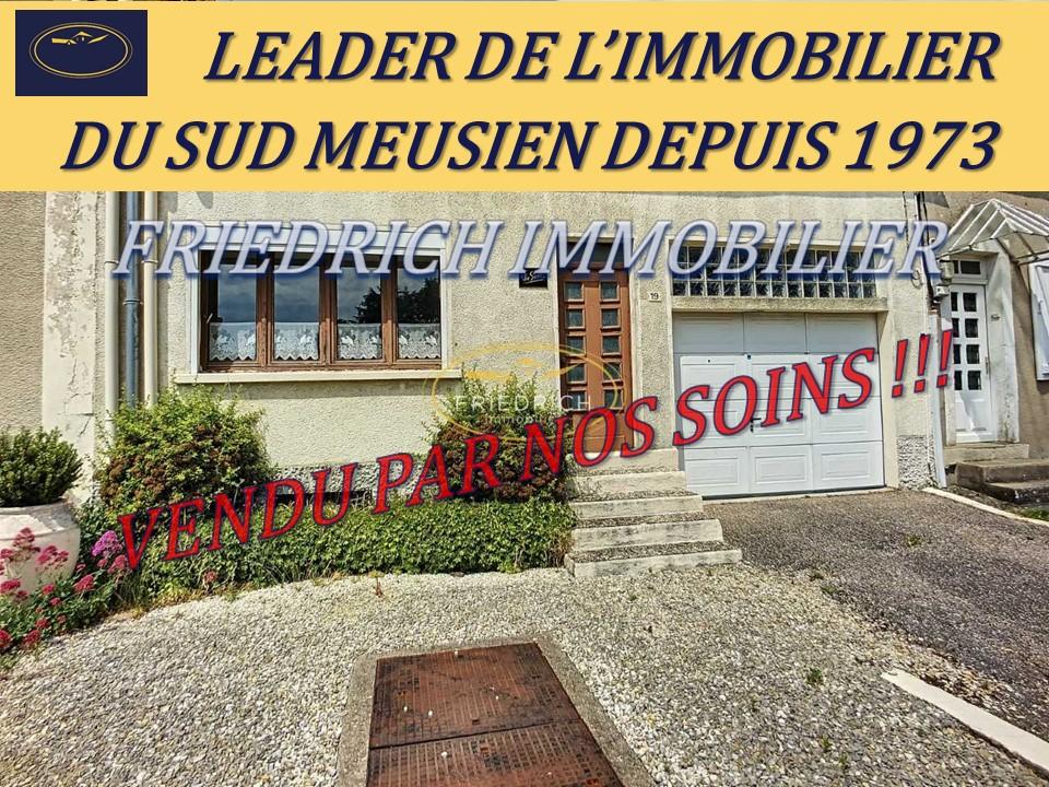 Authentique maison de village - Proche TGV Meuse