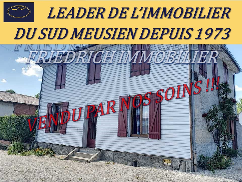 A vendre Maison SERMAIZE LES BAINS 81m² 93.000 4 piéces