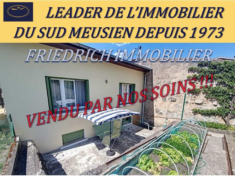 A vendre Maison BAR LE DUC 84.000 5 piéces