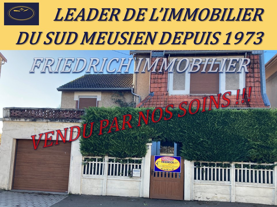 A vendre Maison COMMERCY 118.000