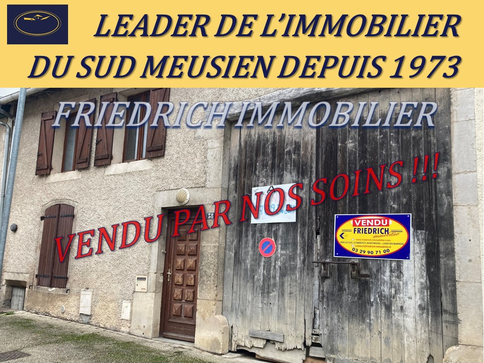 MAISON DE VILLE A RÉNOVER - COMMERCY (Meuse)