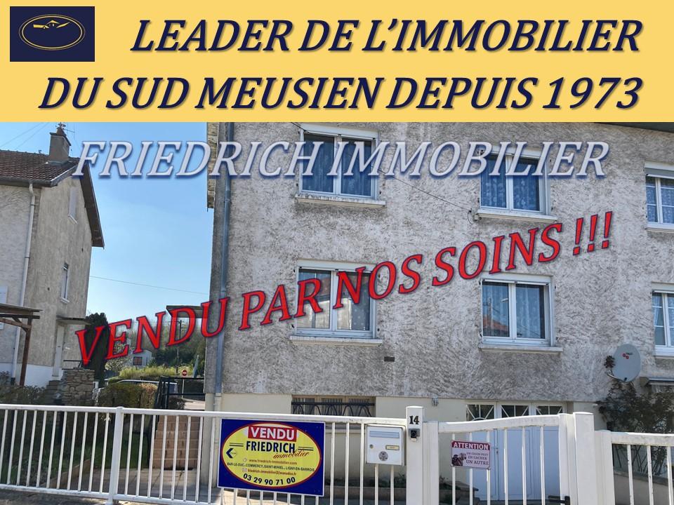 A vendre Maison COMMERCY 6 piéces