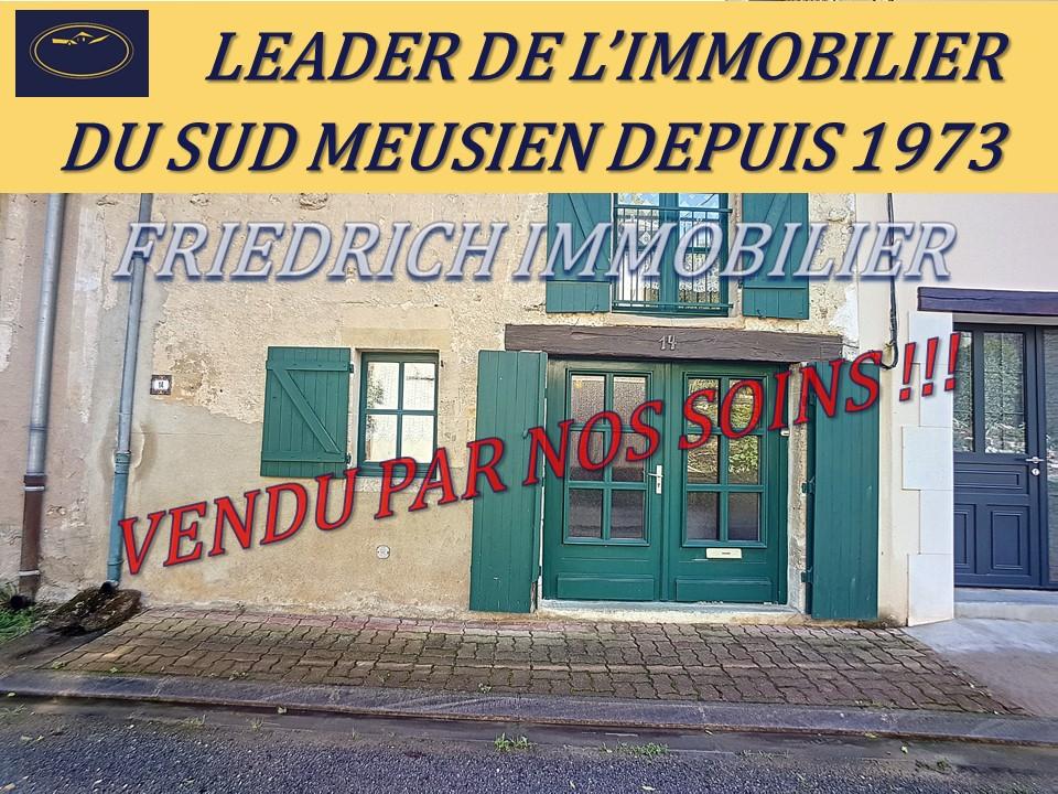 A vendre Maison BAR LE DUC 127m² 44.500 6 piéces
