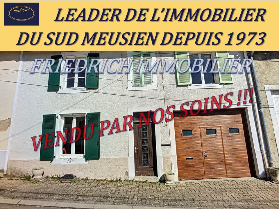 A vendre Maison DOMPCEVRIN 77.000 6 piéces