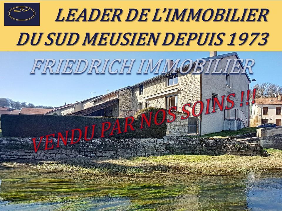 A vendre Maison MONTIERS SUR SAULX 108.77m² 72.000 5 piéces