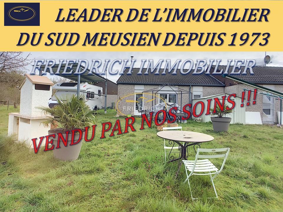 Pavillon de Plain-Pied - Habitable de suite - PROCHE DIEUE-SUR-MEUSE-