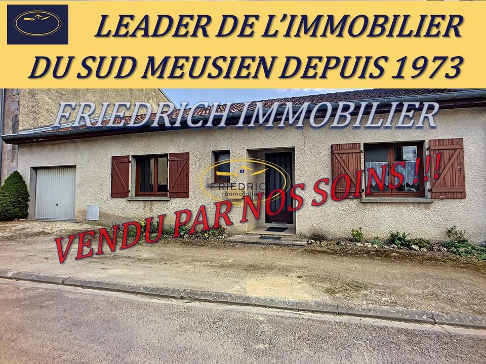 A vendre Maison AILLY SUR MEUSE 90m² 5 piéces