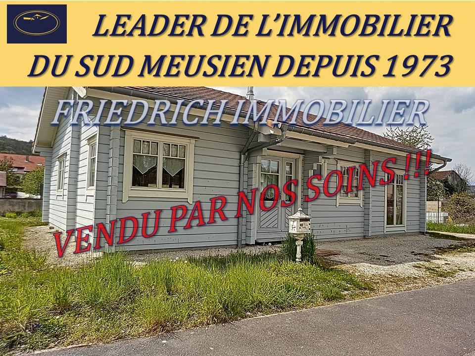 A vendre Maison LIGNY EN BARROIS 109m² 120.000 3 piéces