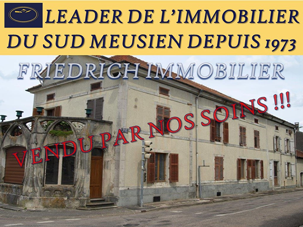 IMMEUBLES A RENOVER - Axe COMMERCY / ST MIHIEL