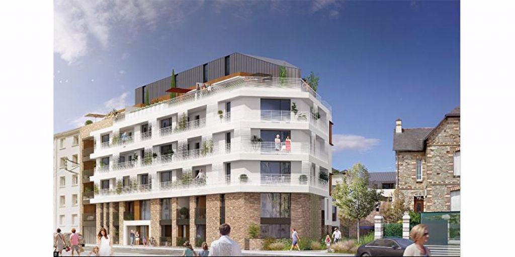 A vendre appartement neuf à Rennes, appartement neuf quatre pièces Rennes Quartier Jeanne d'Arc GR-PK-T4