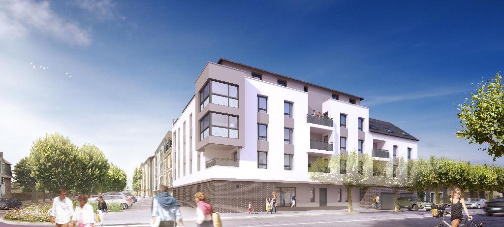 lIVRAISON 2017 A vendre appartement T3 neuf à Saint-Malo, proche gare Ref PO-V