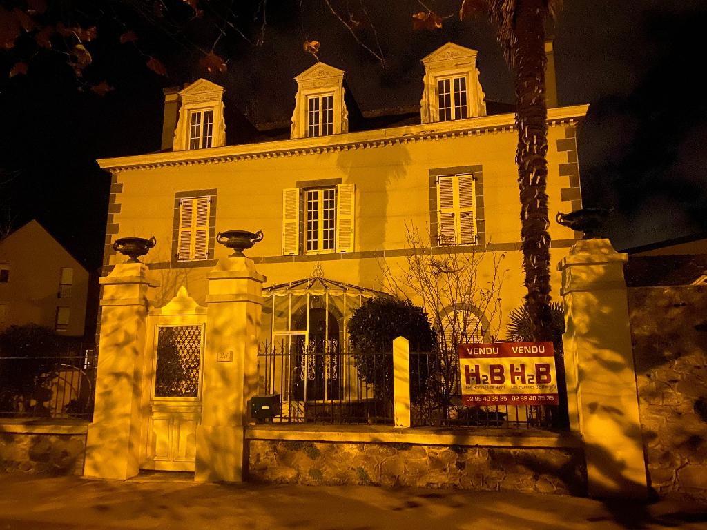 A vendre maison de Maître à Saint-Servan : la Villa Gallica